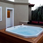 Hot Tub at Cordove Dove Lodge