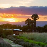 Sunset at the Luxury Dove Lodge