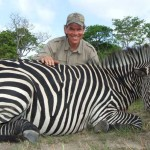 South African Zebra hunting