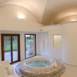 Spa at our Luxury Dove Lodge