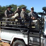 Safari Vehicle in Africa