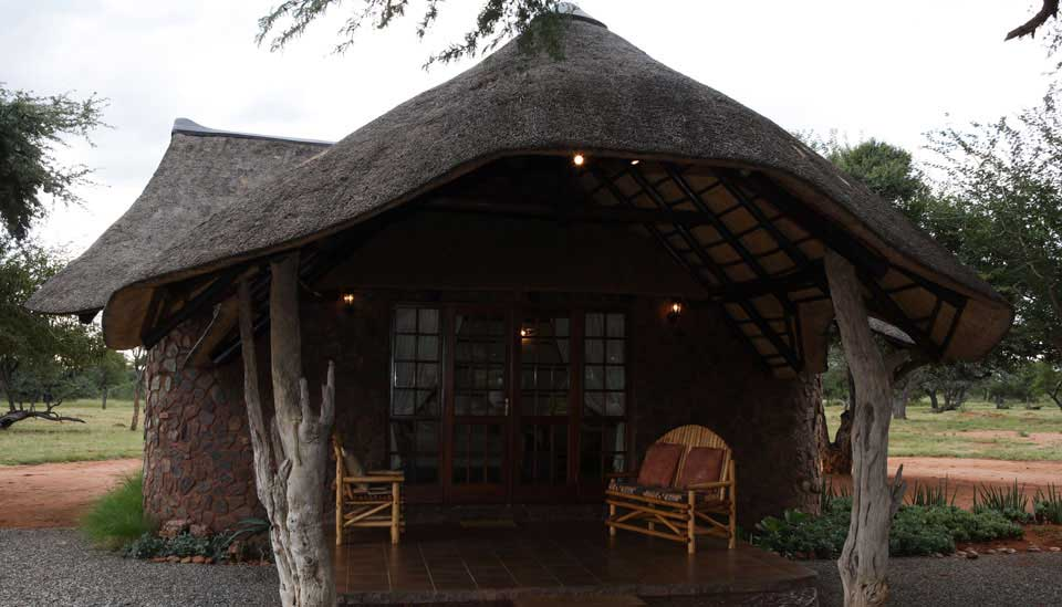 Thatched Roof Chalet
